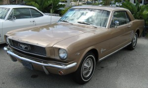1966 Ford Mustang T-5 car