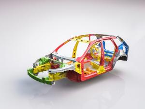205096 The new Volvo XC60 Body structure