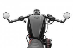 Clip-On Handlebar Kit, 55mm Fork, Gloss Black ALT