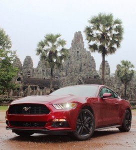 Mustang in Cambodia