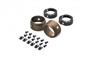 S.E. Muffler End Caps - 3.25'Bronze